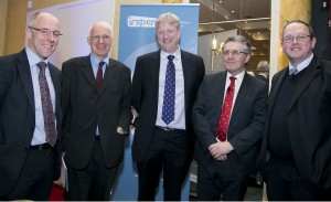 Prof Billy Bourke, Prof Marinos Elia, Dr John Fitzsimons, Prof Hugh O'Connor, Dr Declan Byrne