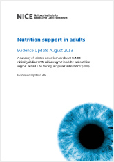 NICE_Nutrition_support_in_adults_Evidence_Update_August_2013