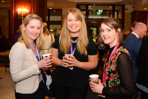 Suzanne Doyle, Aoibheann McMorrow and Elaine Kennedy at the IrSPEN Conference 2015