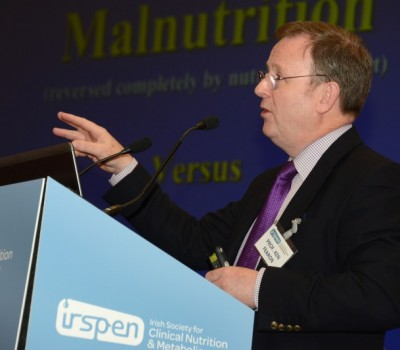 Professor Ken Fearon, Professor of Surgical Oncology at Edinburgh University, gives the closing Lecture at the IrSPEN Conference 2015