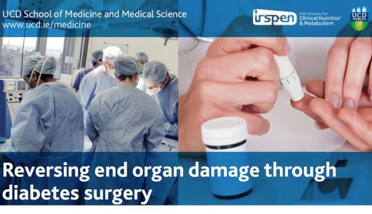 Study Day – August, 24th, 2015 Reversing end organ damage through diabetes surgery