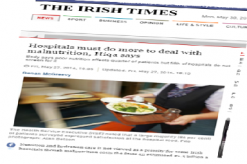 HIQA publishes report on nutrition in hospitals