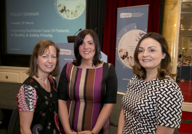 Carmel O' Hanlon & Elaine Bradley from Beaumont Hospital and Olivia Sinclair, Quality Improvement Division HSE
