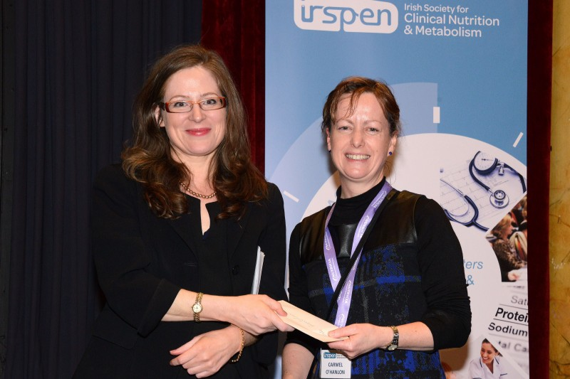 Winners of the poster presentations at the IrSPEN Conference 2015