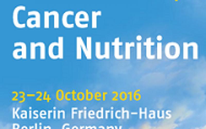 4th ESPEN Workshop – Cancer and Nutrition – Date 23–24 October 2016