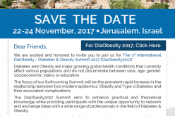 DiaObesity 2017 Summit: November 22-24, 2017 – Jerusalem, Israel