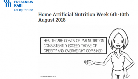Home Artificial Nutrition Week 6th-10th August 2018