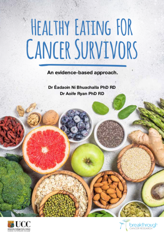 Healthy Eating for Cancer Survivors Cookbook   Irspen