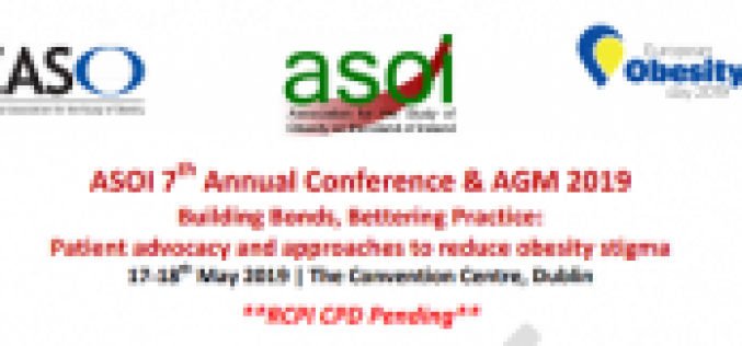 ASOI 7th Annual Conference & AGM 2019: 17-18th May 2019 Dublin