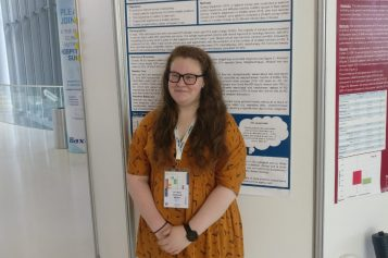 Erin Sullivan presented her poster at ESPEN2019