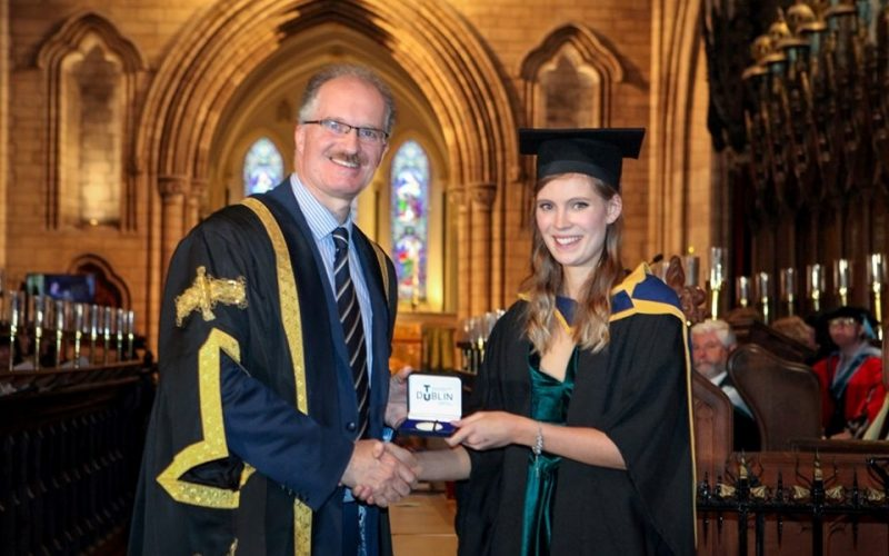 IrSPEN Prize for Best Undergraduate Research Project 2019