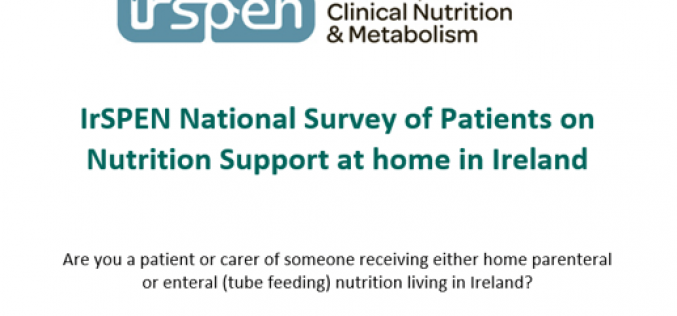 IrSPEN National Survey of Patients on Nutrition Support at home in Ireland