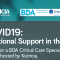 COVID-19 RESOURCES WEBINAR: Nutritional Support in the ICU Monday 6th April at 6.30 pm
