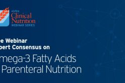 Webinar: Expert Consensus on Omega-3 Fatty Acids in Parenteral Nutrition – July 9th, 2020 2pm GMT