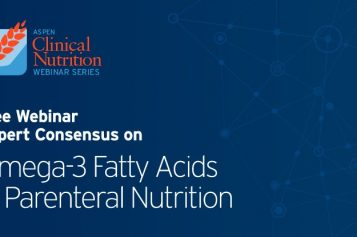 Webinar: Expert Consensus on Omega-3 Fatty Acidsin Parenteral Nutrition – July 9th, 2020 2pm GMT