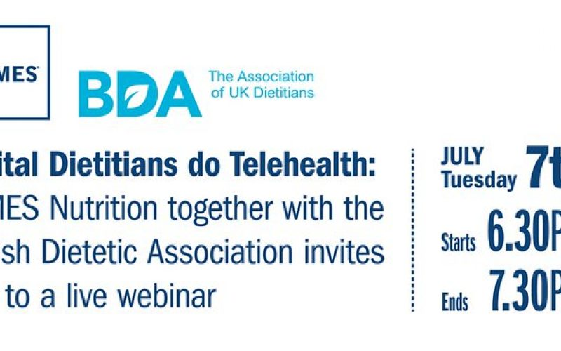 Webinar on Working remotely in Dietetics in our new normal July 7th, 2020 @ 6.30pm