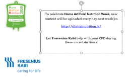 Home Artifical Nutrition Awareness Week: August 3rd – 9th