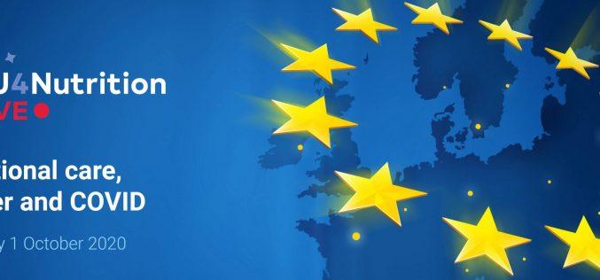 EU4Nutrition LIVE – Thursday October 1st, 2020: Nutrition, Cancer & COVID