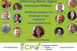 Living With Obesity Live Webinar – Wednesday October 21st 2pm