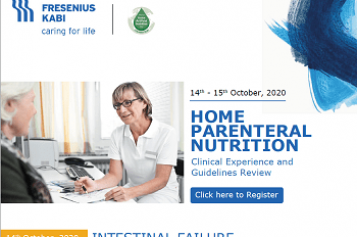 STUDY DAY: HOME PARENTERAL NUTRITION – INTESTINAL FAILURE October 14th & 15th 2020