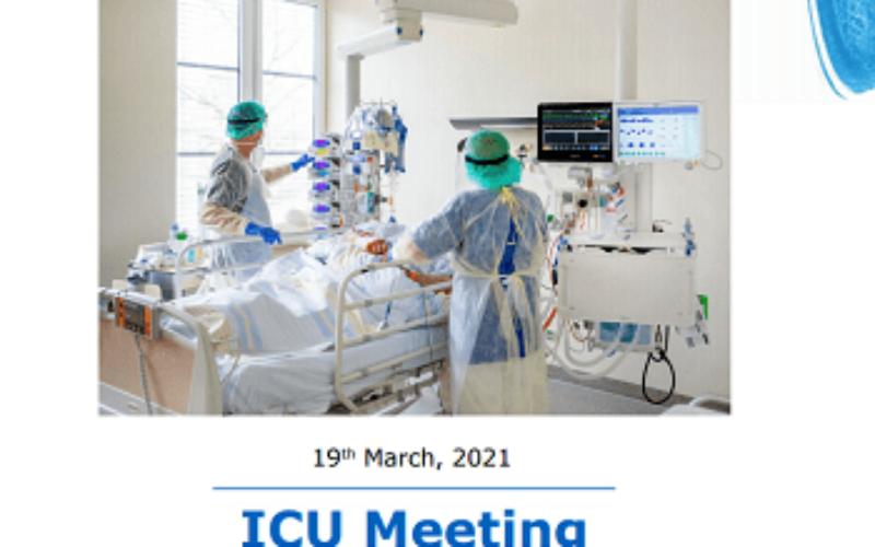ICU Webinar – ICU Practice: Practicalities and Perspectives